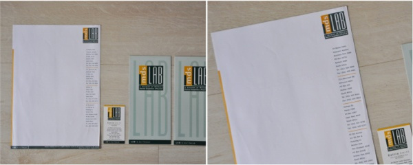 stationery design and production