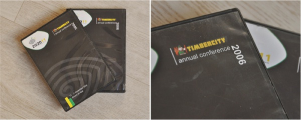 corporate DVD and case