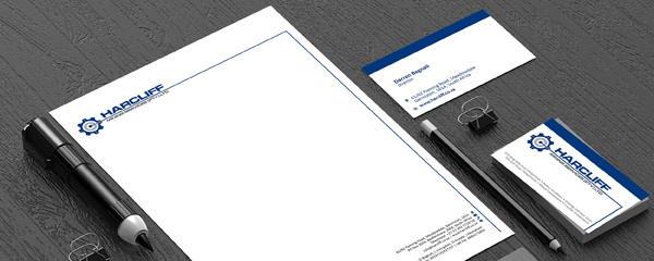 letterhead, business card and other stationery design